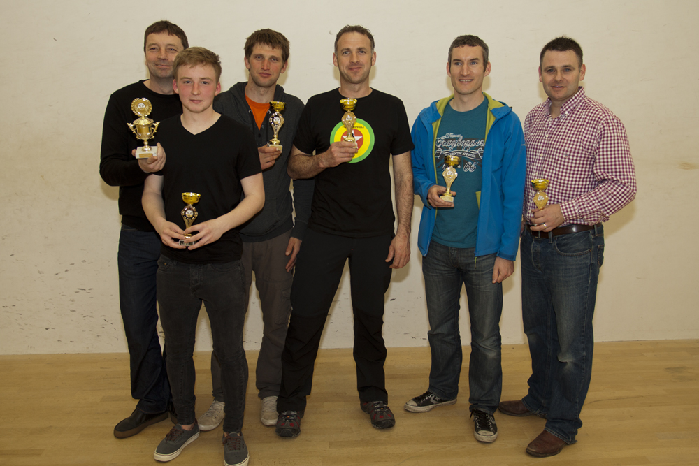 The Martin Gillet knockout competition runners-up, Whitecross Wannabees